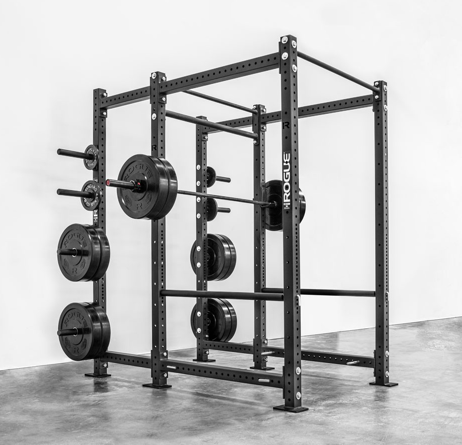 Fitness gear power rack half at hr life