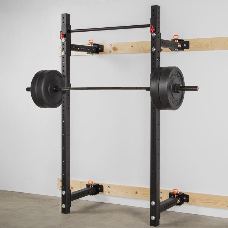 Rogue rml w fold back wall mount rack fitness