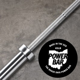 Rogue 45LB Ohio Power Bar - Bare Steel